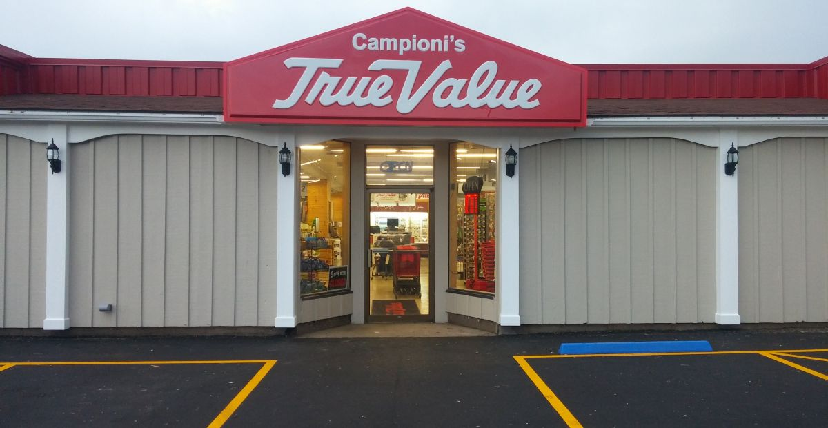 True Value Sign