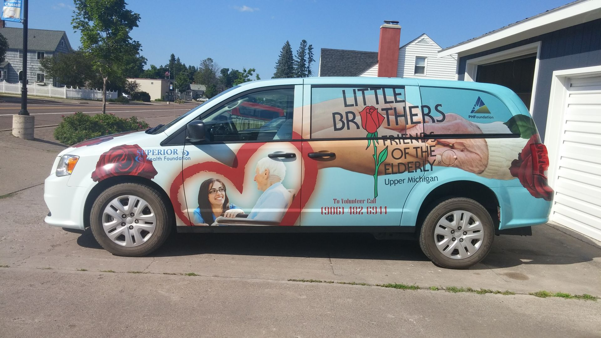 Little Brother's Friends of the Elderly Vehicle Wrap