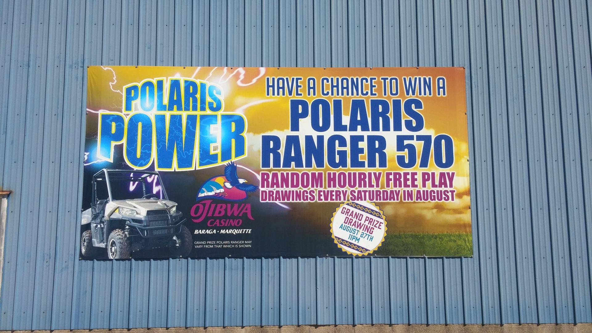 Ojibwa Casino Contest Banner