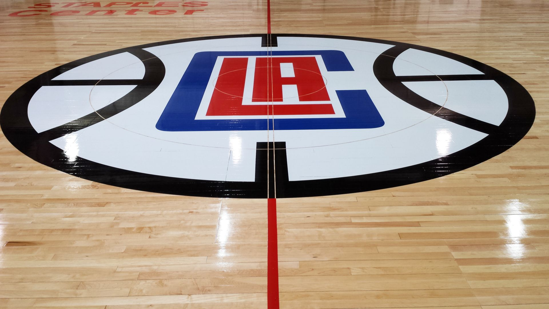 Clippers Floor Graphic Logo