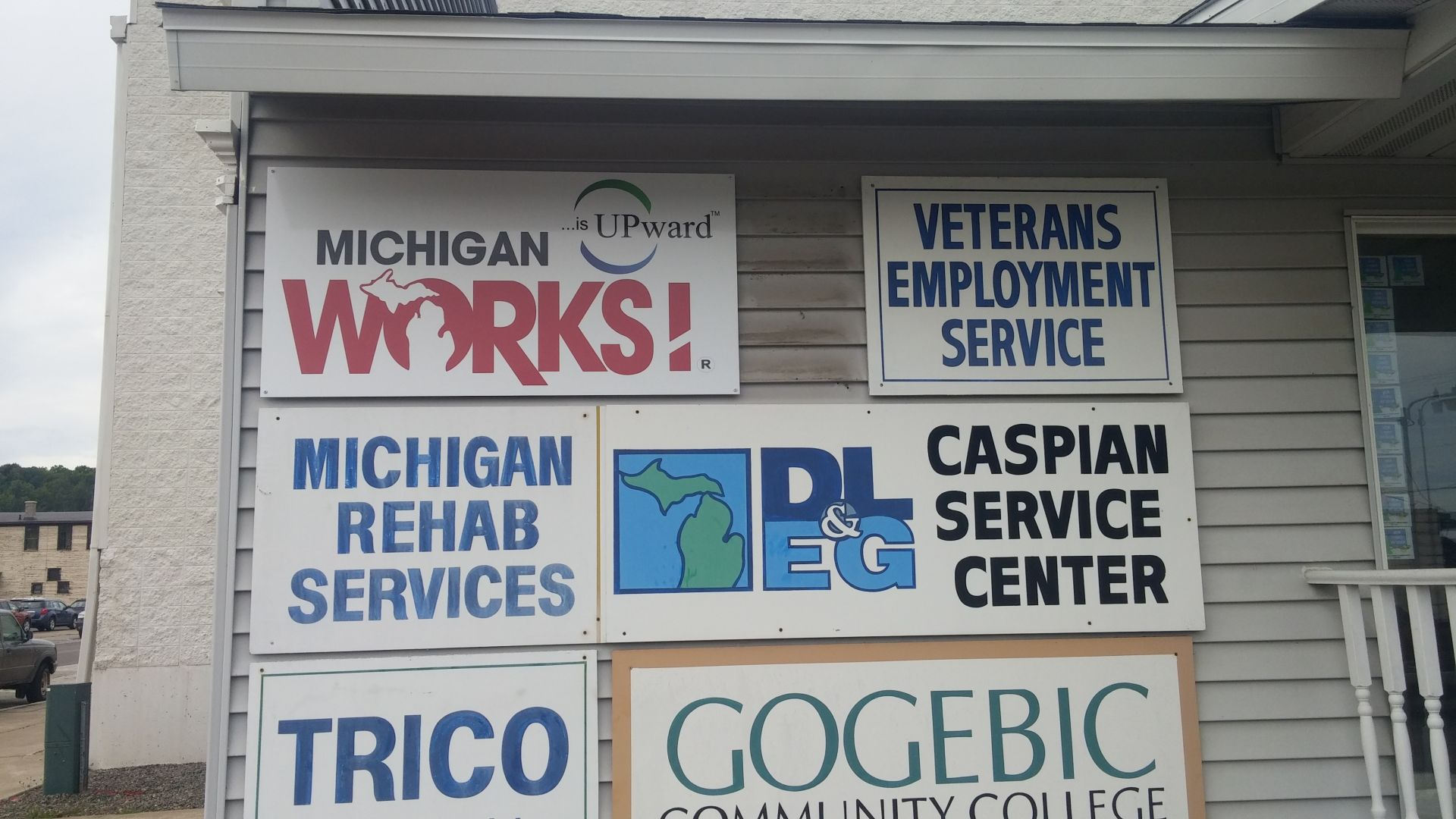 Michigan Works Signage