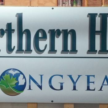Northern Hardwood Signage